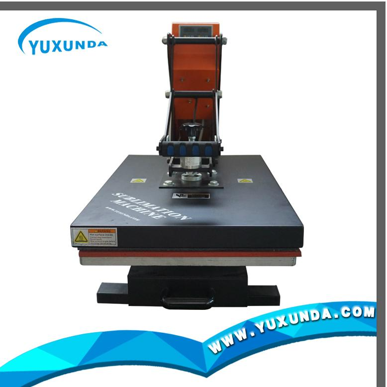 YXD-G7AS automatic open & slide-out rails digital high pressure machine 6