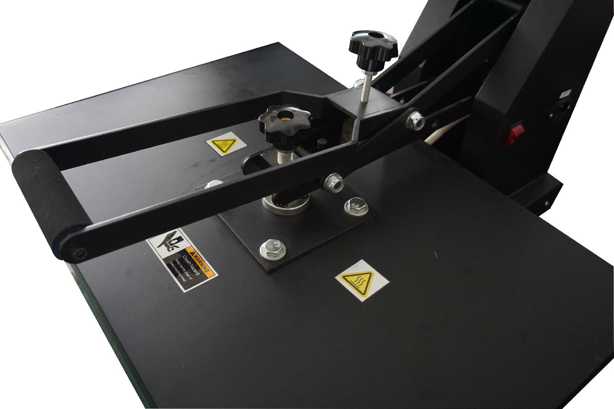 YXD-G5(B) 29*38cm high pressure t shirt printing machine 13