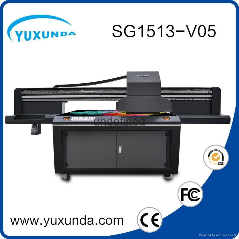 world debut !!SG1513 uv led printer with 6pcs gh2220 printhead uv printer price  3