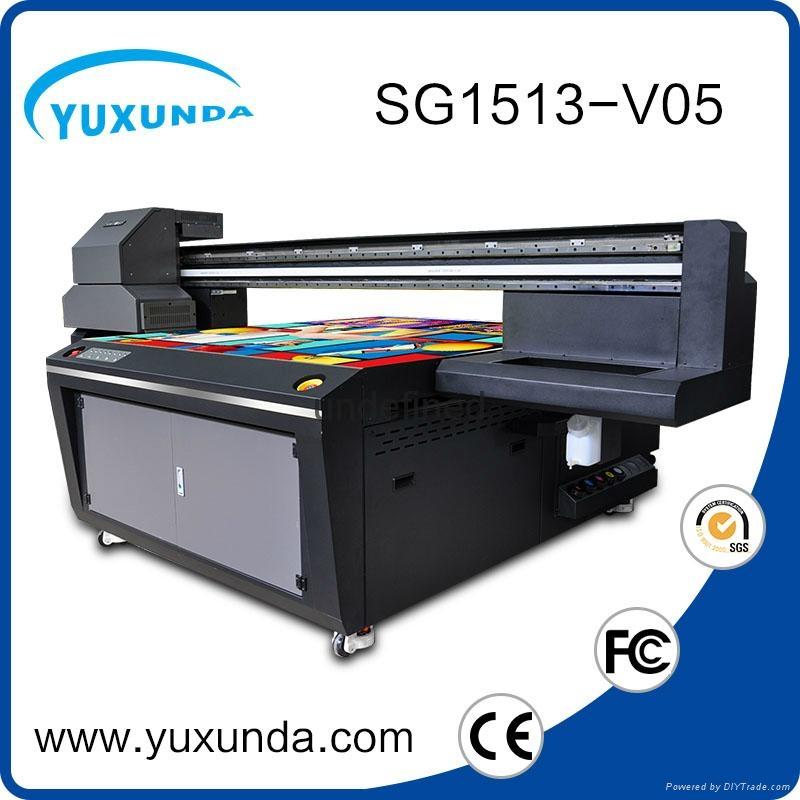 world debut !!SG1513 uv led printer with 6pcs gh2220 printhead uv printer price  4