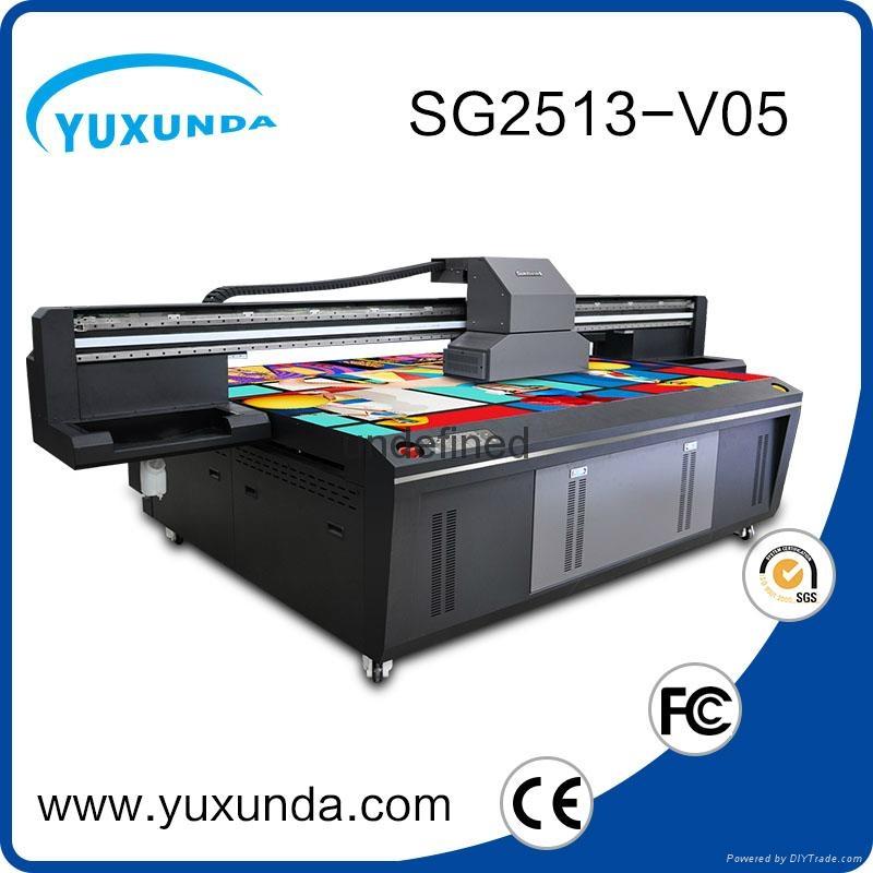 world debut !!SG1513 uv led printer with 6pcs gh2220 printhead uv printer price