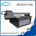 world debut !!SG1513 uv led printer with 6pcs gh2220 printhead uv printer price  5