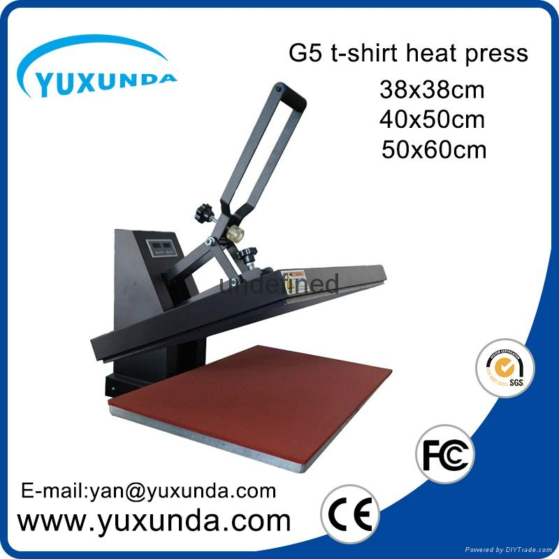 CE Approved Manual Semi-automatic Heat Sublimation Transfer Machine Plain Press  4