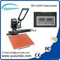 CE Approved Manual Semi-automatic Heat Sublimation Transfer Machine Plain Press  5