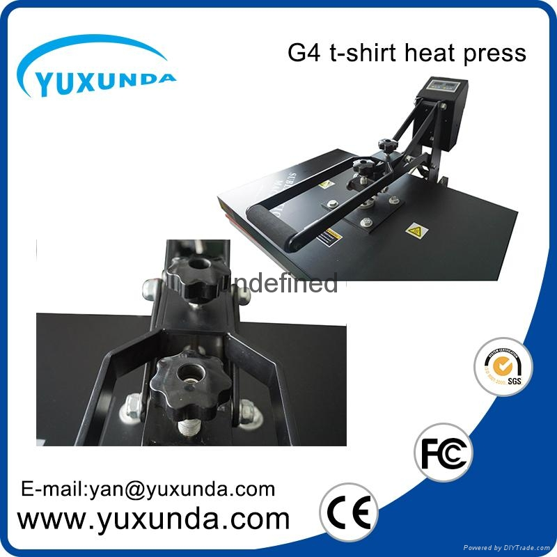 CE Approved Manual Semi-automatic Heat Sublimation Transfer Machine Plain Press  6