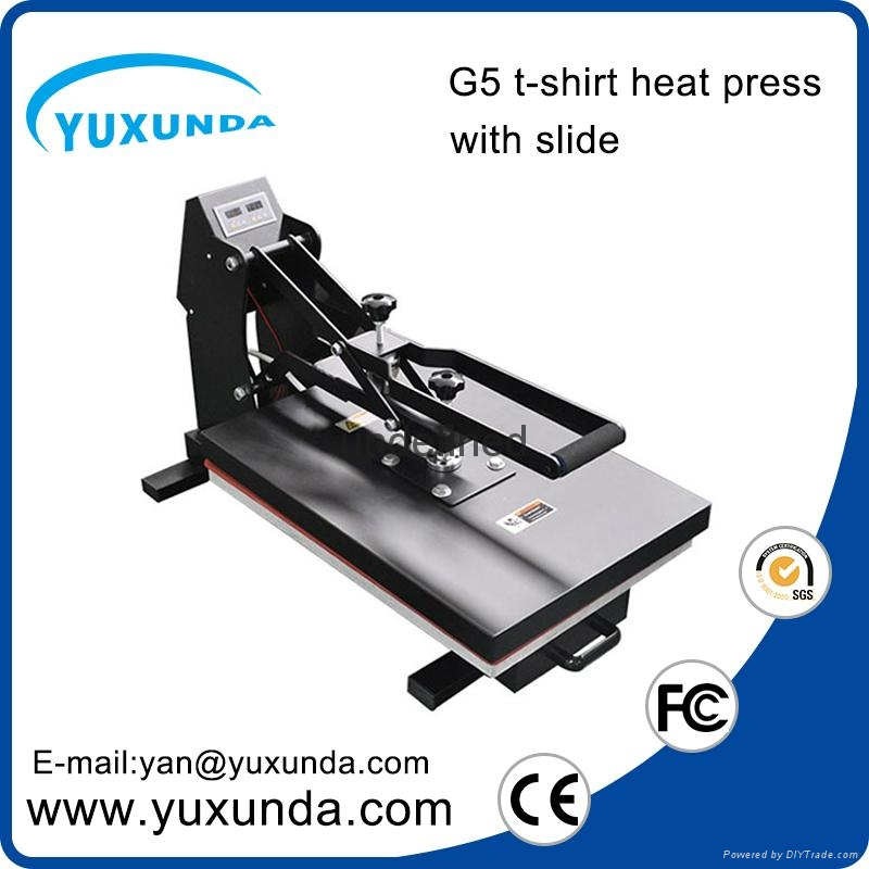 CE Approved Manual Semi-automatic Heat Sublimation Transfer Machine Plain Press  7