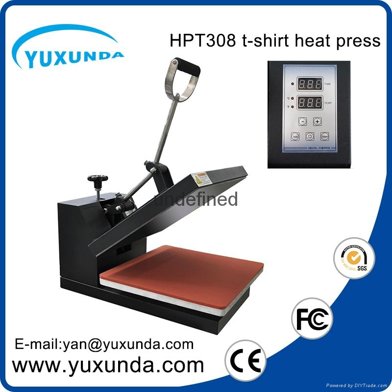 CE Approved Manual Semi-automatic Heat Sublimation Transfer Machine Plain Press  8