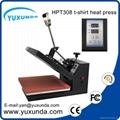 CE Approved Manual Semi-automatic Heat Sublimation Transfer Machine Plain Press