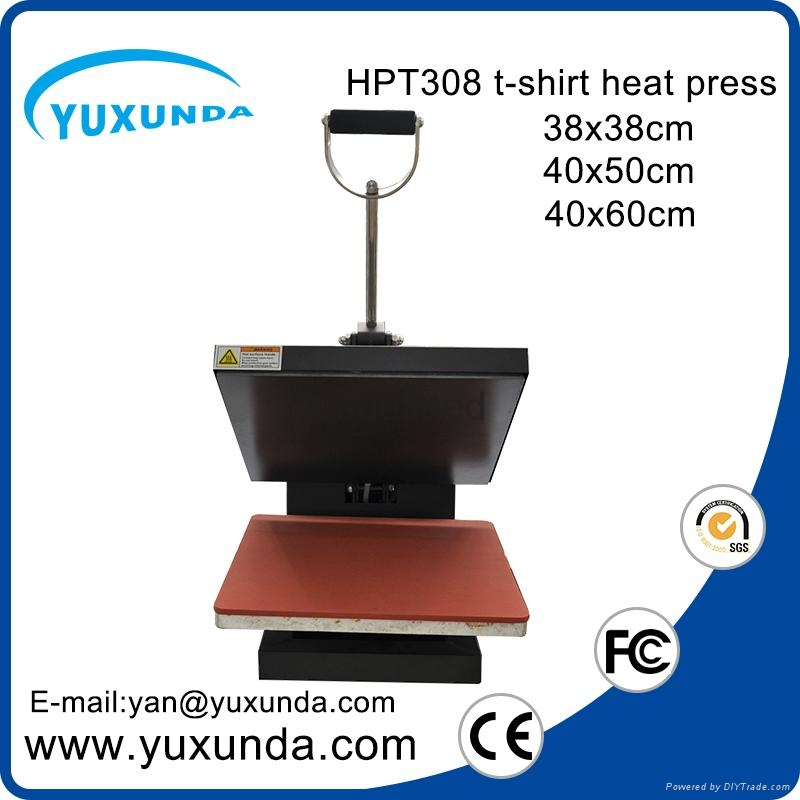 CE Approved Manual Semi-automatic Heat Sublimation Transfer Machine Plain Press  10