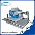 Pneumatic two worktable digital heat press machine for t-shirt 5