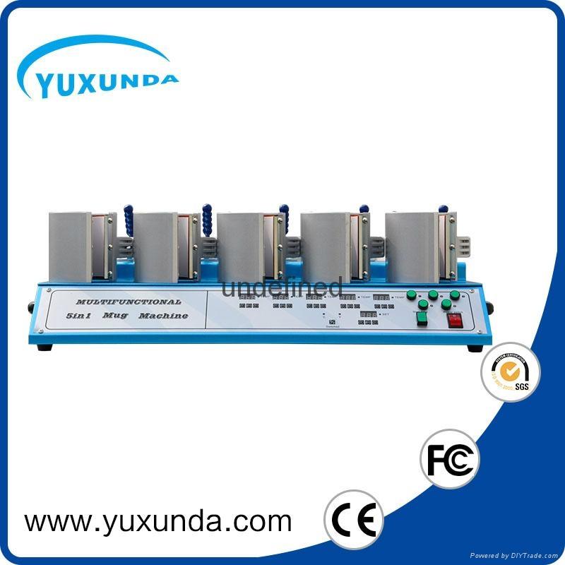 5 in1 combo mug heat press machine
