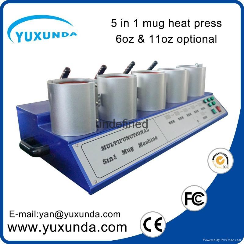 熱轉印5頭烤杯燙畫機 3