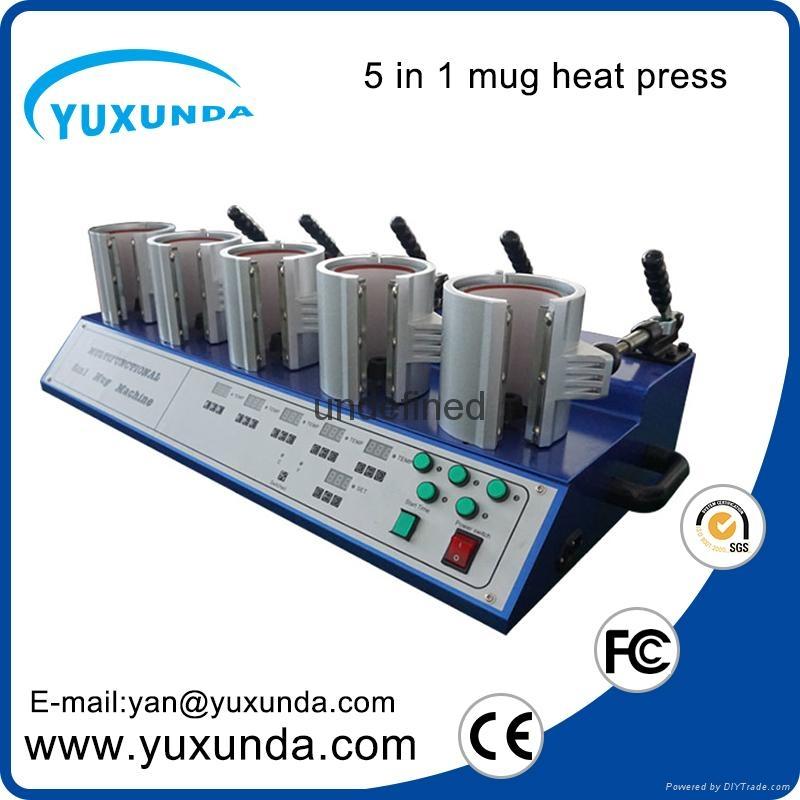 熱轉印5頭烤杯燙畫機 8