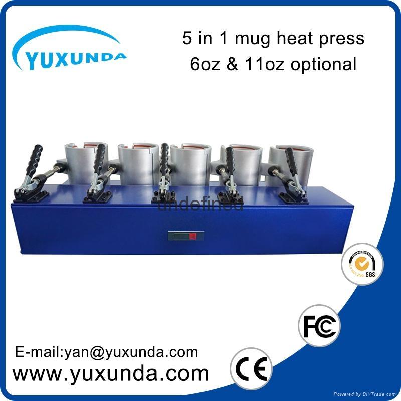 熱轉印5頭烤杯燙畫機 6