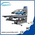 Double working platen heat press machine