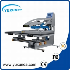 Double working platen heat press machine