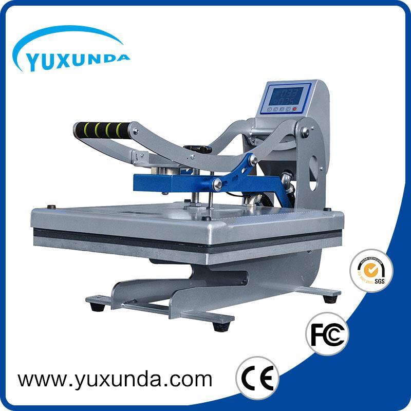 YXD-HCS405 magnetic t-shirt plain heat press machine 3