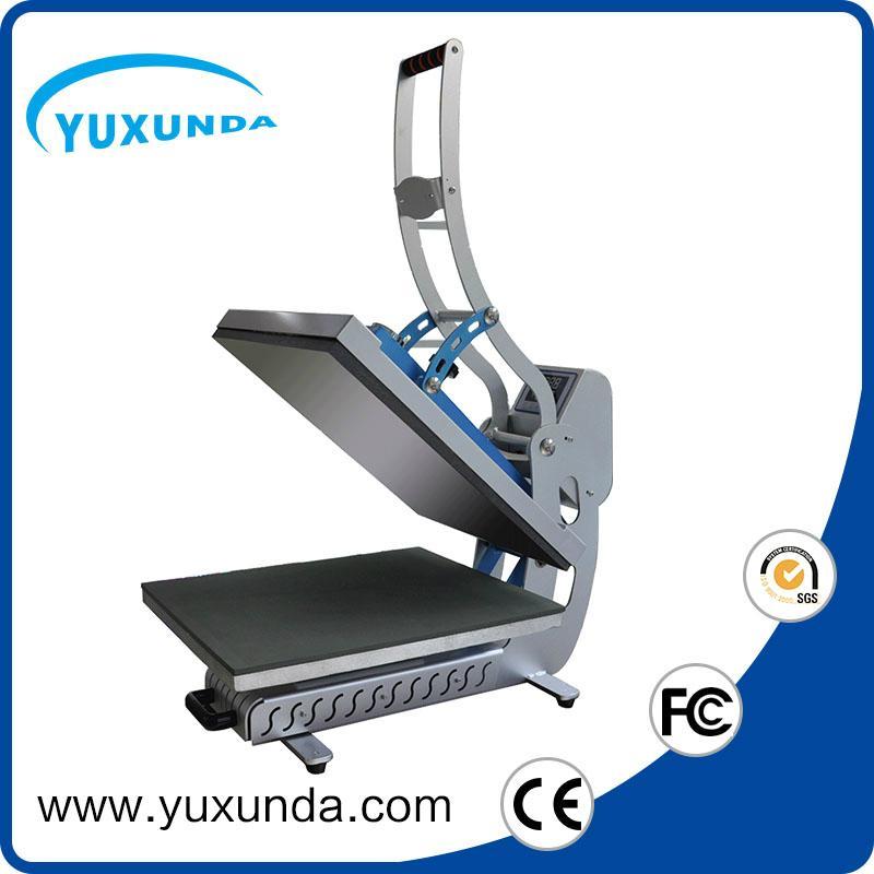 YXD-HCS405 magnetic t-shirt plain heat press machine 5