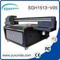 6pcs gh2220 printhead digital inkjet uv printing machine with big size  2