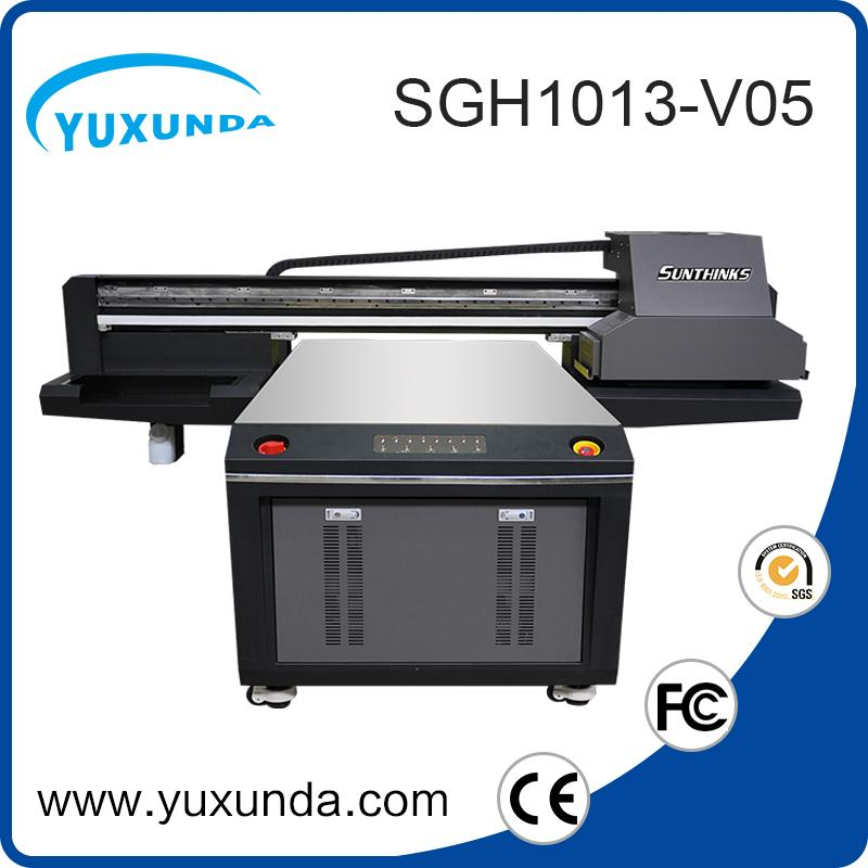 6pcs gh2220 printhead digital inkjet uv printing machine with big size  3