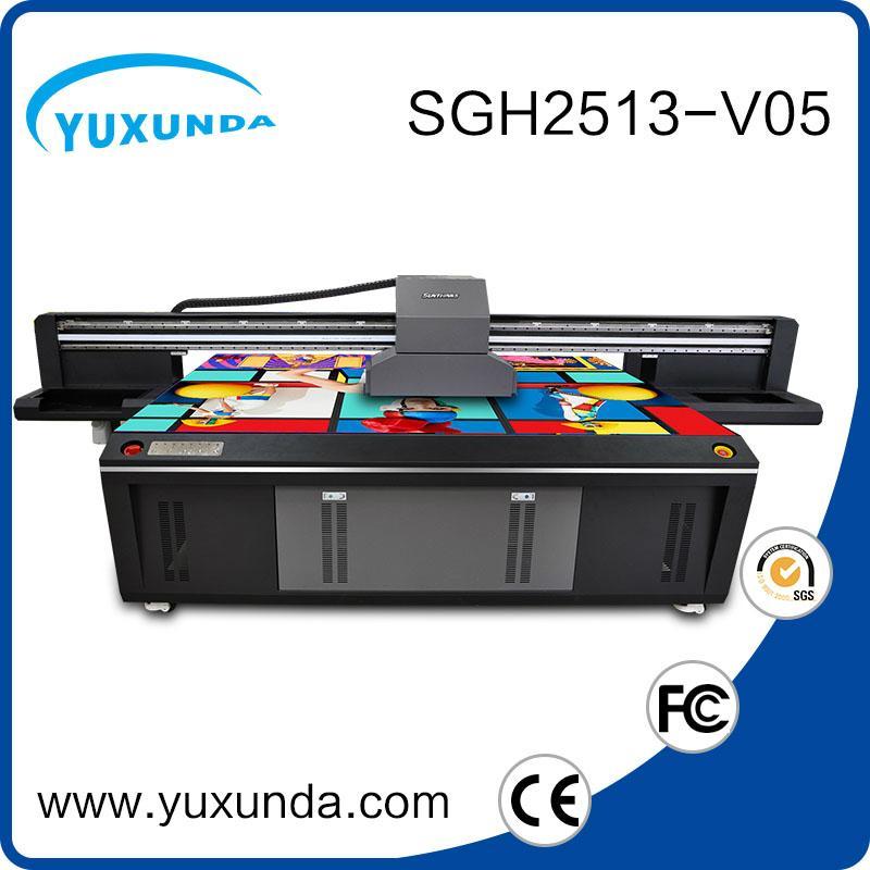 6pcs gh2220 printhead digital inkjet uv printing machine with big size  5