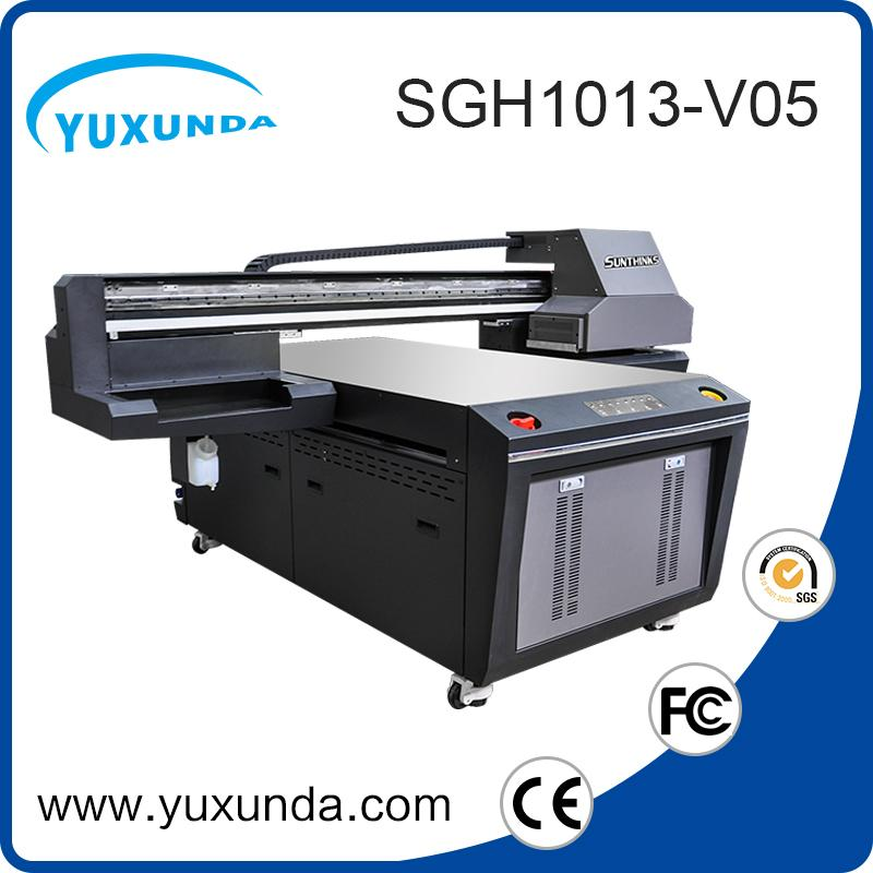 6pcs gh2220 printhead digital inkjet uv printing machine with big size  6