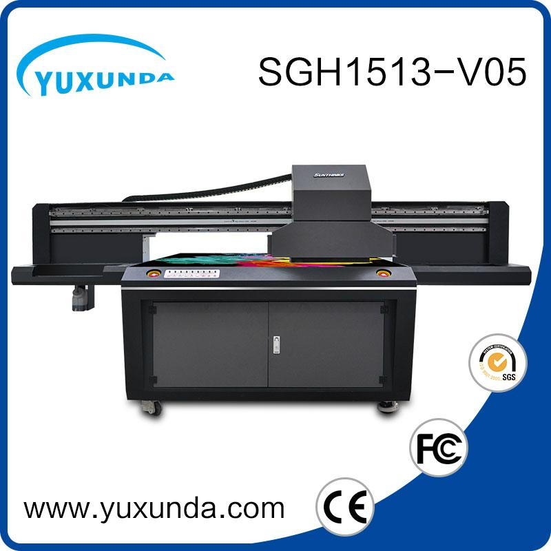 6pcs gh2220 printhead digital inkjet uv printing machine with big size  7