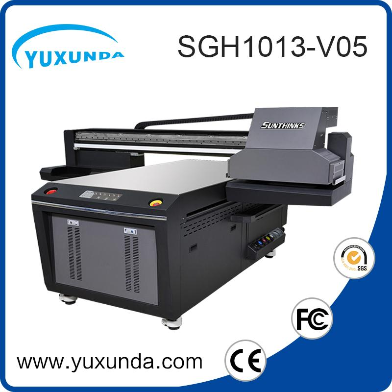 6pcs gh2220 printhead digital inkjet uv printing machine with big size  9