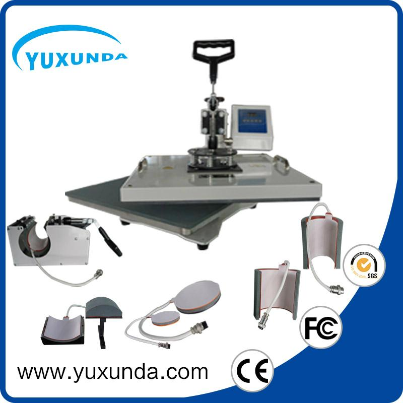 Cost Saving 15*20cm smaller size swing away plain press machine