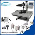 Cost Saving 15*20cm smaller size swing away plain press machine  2