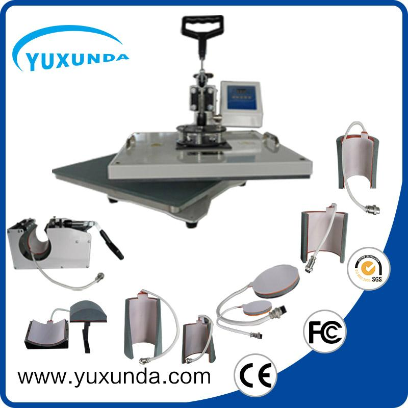 hot 8 in 1 multifunctional heat press machine
