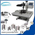 hot 8 in 1 multifunctional heat press machine 2