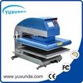 60*80cm YXD-A8 air operated single station heat press machine  2