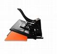 Manual Plain heat press machine 60x80cm 3