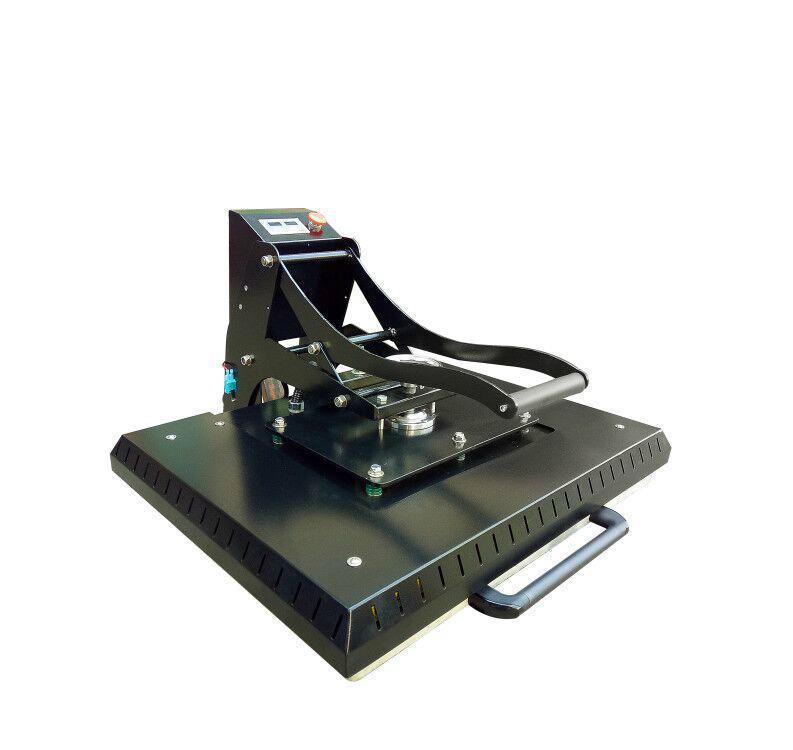 Manual Plain heat press machine 60x80cm 4