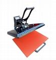 Manual Plain heat press machine 60x80cm 6