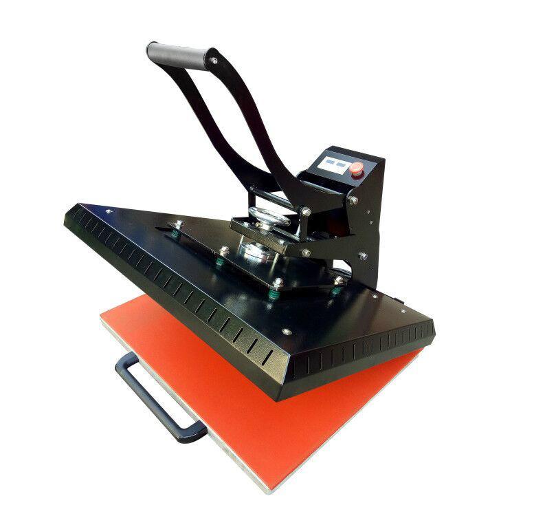 Manual Plain heat press machine 60x80cm 7