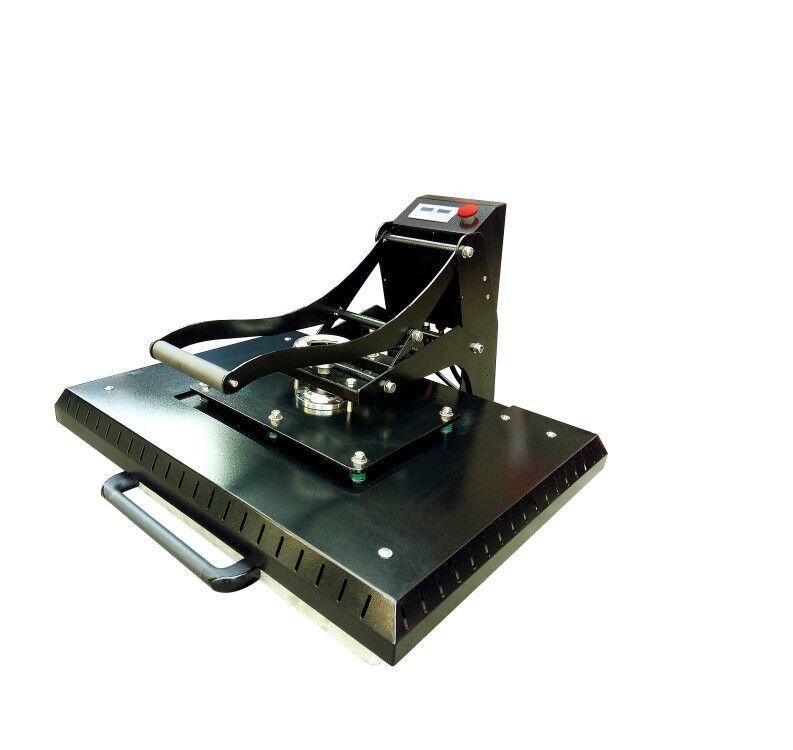 Manual Plain heat press machine 60x80cm 2