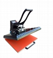 Manual Plain heat press machine 60x80cm 8