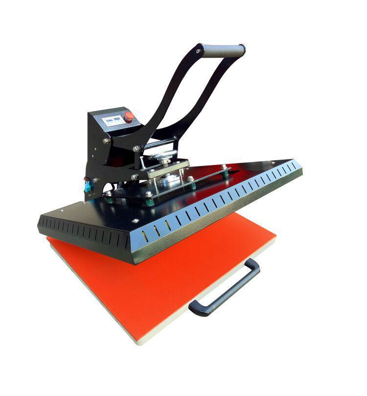 Manual Plain heat press machine 60x80cm 9