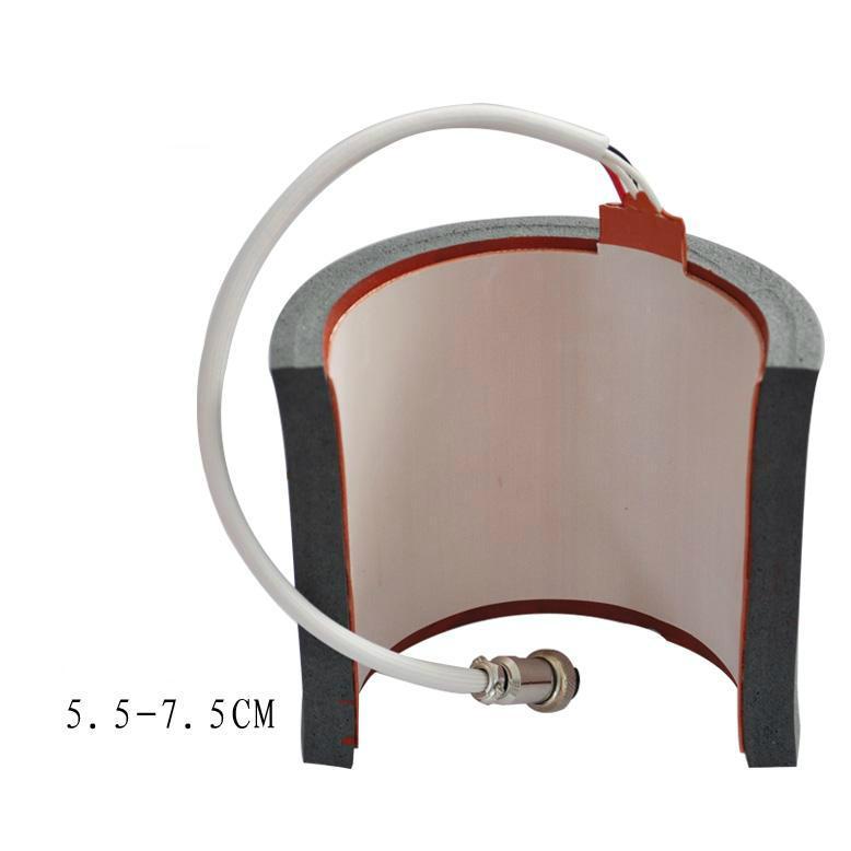 Newest 5 in1 combo mug heat press machine 17