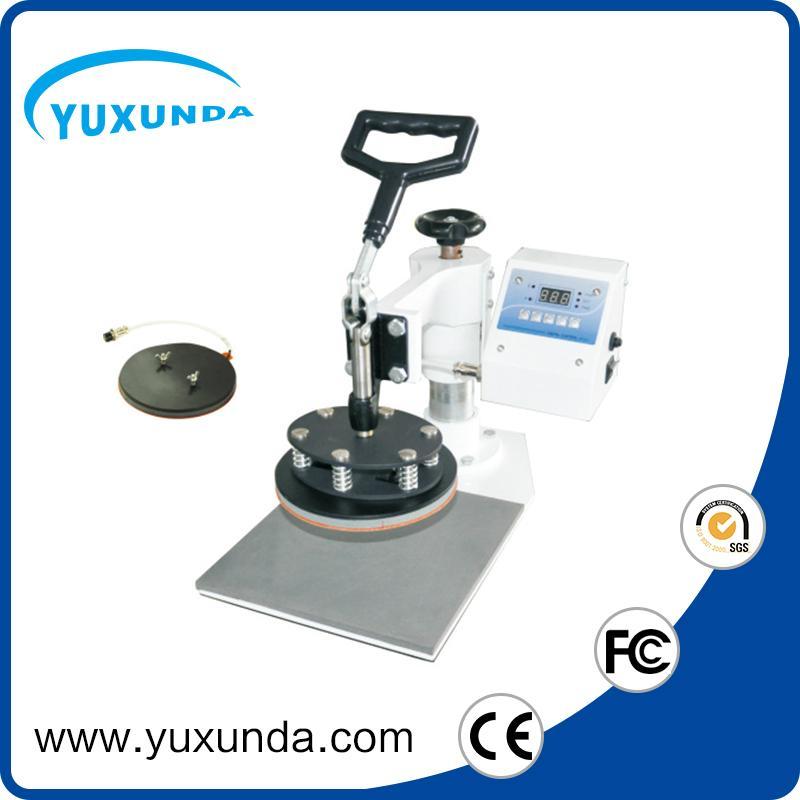 Digital plate heat press machine