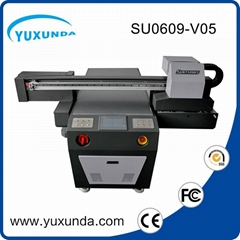 2016 newest DX5 two printer heads uv flatbed printer