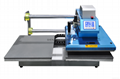 Pneumatic two worktable digital heat press machine 9