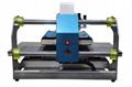 Pneumatic two worktable digital heat press machine