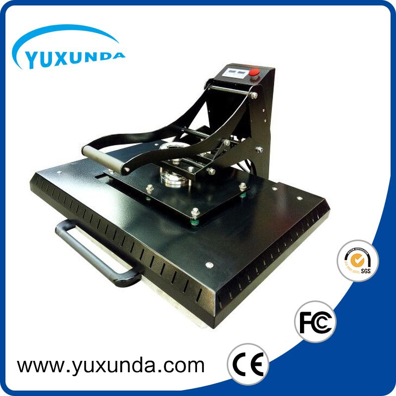 Manual Plain heat press machine 60x80cm 1