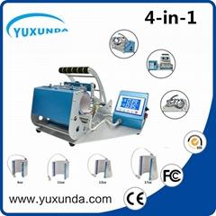 Conical mug heat press machine