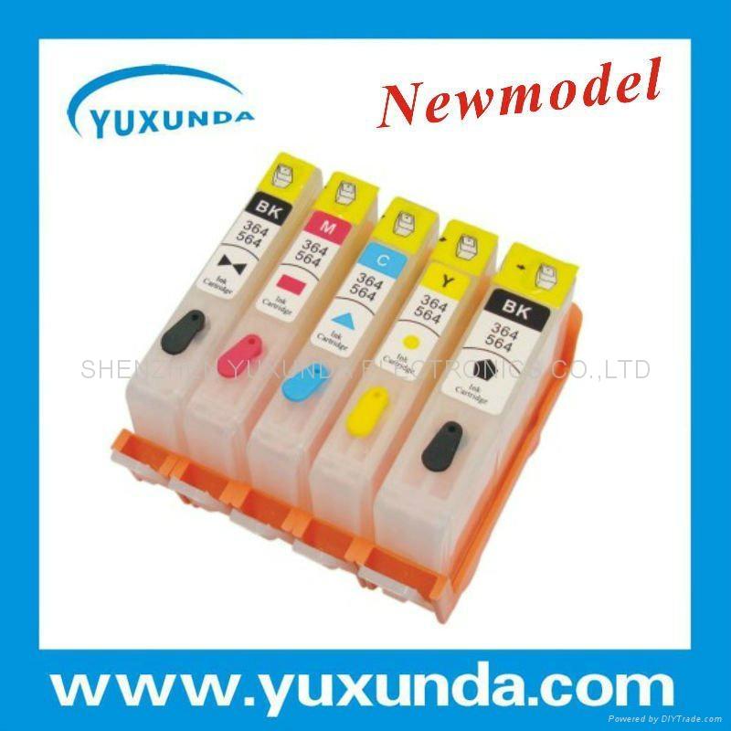 填充墨盒HP D5460 C6383 HP564 HP364 1