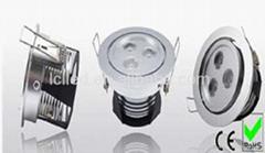 LED万向角天花灯