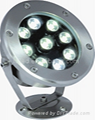 LED underwater light